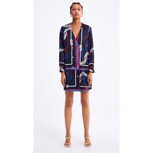 Zara Knot Print Dress